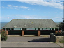 TR3965 : Promenade Shelter on East Cliff by David Anstiss