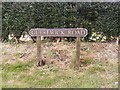 TG0324 : Guestwick Road sign by Adrian Cable