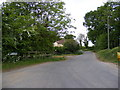 TG0526 : Foulsham Road, Guestwick Green by Geographer