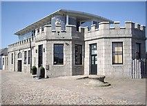 NJ9505 : 'Silver Darling' restaurant, Aberdeen Harbour by Stanley Howe