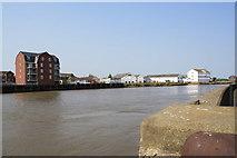 TG5107 : Sauls Wharf, Cobholm, Great Yarmouth by Glen Denny
