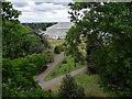 TQ1876 : Temperate House as seen from Xstrata Tree Walk, Kew Gardens by Christine Matthews