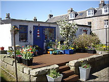 NJ9505 : Cottages in Pilot Square, Footdee by Stanley Howe