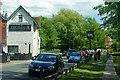 TQ5365 : Riverside, Eynsford, Kent by Peter Trimming