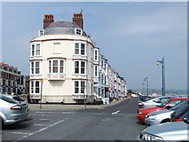 SY6879 : Brunswick Terrace, Weymouth by Stefan Czapski