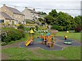 NY9038 : Children's playground, Westgate by Andrew Curtis