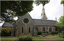 TQ3084 : St Andrew, Thornhill Square, Barnsbury by John Salmon