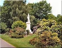 SU4212 : Viscount Palmerston Statue by Paul Gillett
