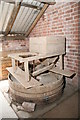SO3729 : Home Farm Mill, Dulas - the stones by Chris Allen