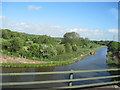 SJ5681 : Bridgewater Canal from Eastbound M56 by John Firth