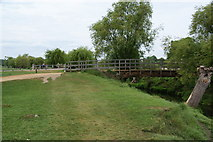 TQ2173 : Bridges over Beverley Brook by Bill Boaden