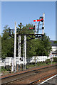 NH8912 : Semaphore Signals, Aviemore by Martin Addison