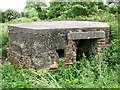 TG2721 : WWII site south of RAF Coltishall - pillbox by Evelyn Simak