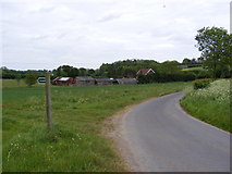 TM2754 : Grove Road & the footpath to Dallinghoo Road by Adrian Cable
