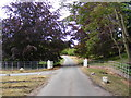 TM2957 : The entrance to Glevering Hall by Adrian Cable
