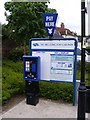 TM3055 : The Hill Long Stay Car Park Ticket Machine by Adrian Cable