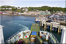 NM8529 : Ferry Terminal and Oban Harbour by Tom Richardson
