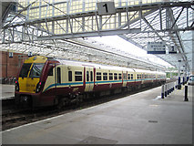 NS2982 : Inside Helensburgh Central station by John Firth
