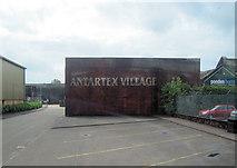 NS3980 : Antartex Village entrance by John Firth