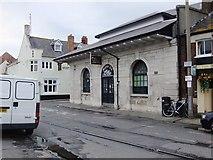 SY6778 : The Old Fish Market, Custom House Quay, Weymouth by Stefan Czapski