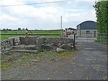M2272 : Farm buildings and old pump at Togher by Oliver Dixon