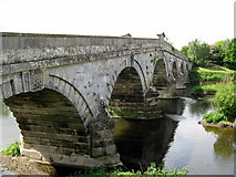 SJ5409 : Old Atcham Bridge by Roy Hughes