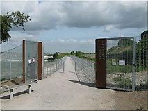 TQ7668 : Entrance to Fort Amhurst by David Anstiss