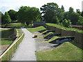 TQ7668 : Prince William's Bastion (2) by David Anstiss