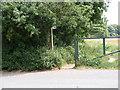 TM2446 : Footpath onto Martlesham Heath by Adrian Cable