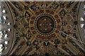 SU1696 : Ceiling in Kempsford church by Philip Halling