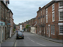 SK3825 : Potter Street, looking east by Alan Murray-Rust