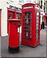 J0890 : Postbox and telephone call box, Randalstown by Rossographer