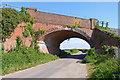 SZ1793 : Railway Bridge at Somerford by Mike Smith