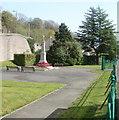 ST2391 : Risca War Memorial by Jaggery