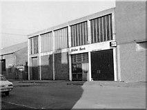 J3475 : Ulster Bank - York Road temporary premises by The Carlisle Kid
