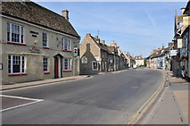 SU2199 : Lechlade High Street by Philip Halling