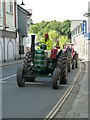 SX5895 : Okehampton - Market Street with historic tractors by Chris Allen