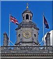 TQ3080 : Domed clock tower, Horse Guards, Whitehall by Julian Osley