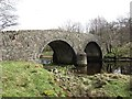 NM9762 : Bridge, Sallachan by Richard Webb