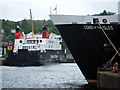 NM8530 : Idling Ferries at Oban by Steve Partridge