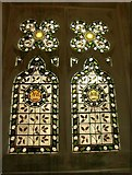 ST5071 : Window, chapel, Tyntesfield House by Derek Harper