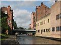SK5739 : Nottingham Canal: Carrington Street bridge by John Sutton