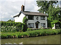 SJ6874 : Canal Cottage, near Wincham by Mike Todd