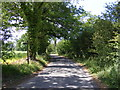 TM3365 : Low Road, Bruisyard by Geographer