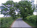 TM3265 : Low Road, Bruisyard by Adrian Cable