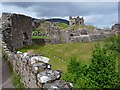 NH5328 : The eastern side of Urquhart Castle by Robin Drayton
