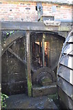 SK3281 : Abbeydale Industrial Hamlet - Overshot Wheel by Ashley Dace