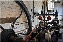 SK3281 : Abbeydale Industrial Hamlet - Steam Engine by Ashley Dace