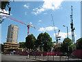 TQ3479 : Bermondsey Spa development by Stephen Craven