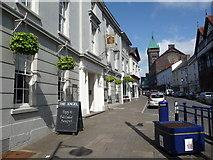 SO2914 : Cross Street, Abergavenny by Jeremy Bolwell